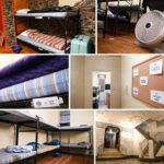 Photos: Respectful Accomodations for Tishrei Guests