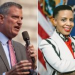 Bill De Blasio, Laurie Cumbo, Win Democratic Primary