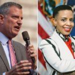 Bill De Blasio, Laurie Cumbo, Win Democratic Primary