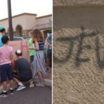 Teens Create Positive Graffiti to Counter Hate