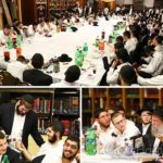 Photos: Guests Partake in 'First' Tishrei Farbrengen