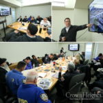 Photos: Five Police Agencies Meet Ahead of Kinus