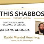 Shabbos at the Besht: Akeida vs. Al-Qaeda