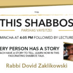 Shabbos at the Besht: Every Person Has a Story