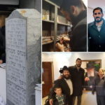 Photos: Omri Casspi Visits the Rebbe's Ohel
