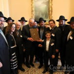 Sen. Schumer Celebrates Sefer's Return from Russia