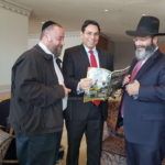 Picture of the Day: Ambassador Greets Shluchim