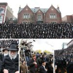 Photos: Preparing for the Shluchim Group Photo
