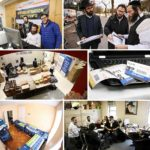 Photos: Hours Before the Opening of Kinus Hashluchim