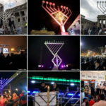 15,000 Public Menorahs Lit Around the World