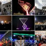 15,000 Public Menorahs Lit Around the World