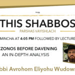 Shabbos at the Besht: Mezonos Before Davening