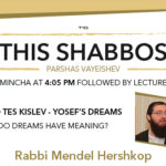 Shabbos at the Besht: Do Dreams Have Meaning?