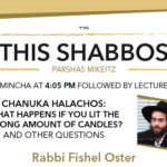 Shabbos at the Besht: The Laws of Chanukah