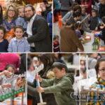 Friendship Circle Kids Build Menorahs at Home Depot
