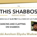 Shabbos at the Besht: Dancing and Clapping on Shabbos