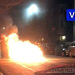 Video: Car Bursts Into Flames on Brooklyn Ave.