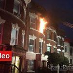 Early Morning Fire Tears through Carroll St. Home