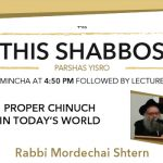 Shabbos at the Besht: Proper Chinuch in Today's World