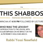 Shabbos at the Besht: Who was the Levush?