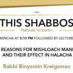 Shabbos at the Besht: Reasons for Mishloach Mannos