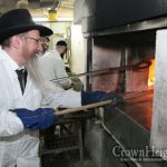 Chief Rabbi of Russia at Matza Baking