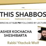 Shabbos at the Besht: Yasher Kochacha Sheshibarta