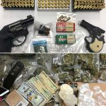 Police Seize Two Firearms and a Large Quantity of Drugs