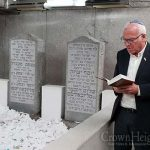 Picture of the Day: Minister of Agriculture Visit the Ohel