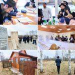 Hundreds Visit the Ohel of the Tzemach Tzedek