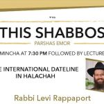Shabbos at the Besht: International Dateline In Halachah