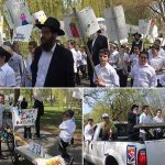 Cheder at the Ohel Holds Lag Ba'Omer Parade
