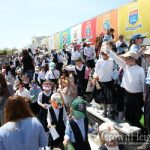 Watch: Lag B'Omer Children Rally in Crown Heights