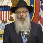 Shliach Delivers Invocation at U.S. Embassy in J'lem