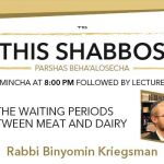 Shabbos at the Besht: Waiting Between Meat and Dairy