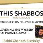 Shabbos at the Besht: The Mystery of Parah Adumah