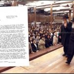 Weekly Letter: A Tzaddik Lives on Forever