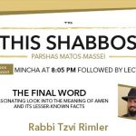Shabbos at the Besht: The Final Word