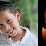 Boruch Dayan Hoemes: Chaim Schneur Zalman Borenstein, 9, OBM