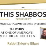 Shabbos at the Besht: Shlichus at a Liberal College
