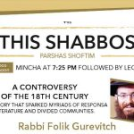 Shabbos at the Besht: A Controversy of the 18th Century