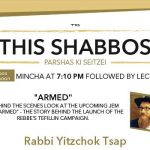 Shabbos at the Besht: the Rebbe's Tefillin Campaign