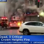 1 Dead, 3 Critical in Crown Heights Apartment Building Fire