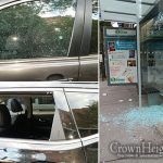 Dozens of Cars Vandalized, Kingston Ave. Bus Stop As Well