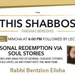 Shabbos at the Besht: Personal Redemption Via Soul Stories