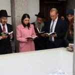 Ayelet Shaked Visits the Ohel