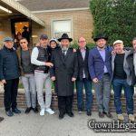 Chatanei Torah take a Trip to the Ohel