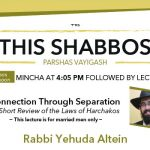 Shabbos at the Besht: Connection Through Separation