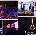 Lighting the Menorah by the Eiffel Tower