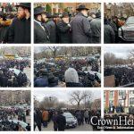 Photo Gallery: Levaya of Rabbi Yonah Avtzon OBM